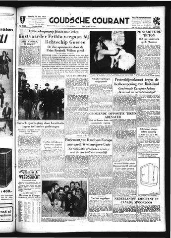 Goudsche Courant 1954-12-13