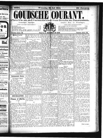 Goudsche Courant 1914-07-22