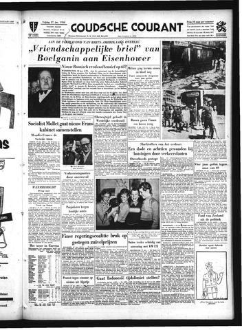 Goudsche Courant 1956-01-27