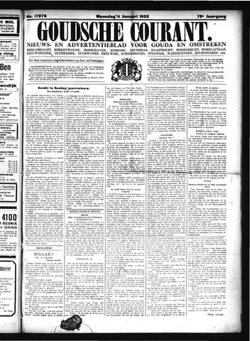 Goudsche Courant 1932-01-04