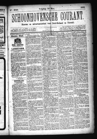 Schoonhovensche Courant 1916-05-12