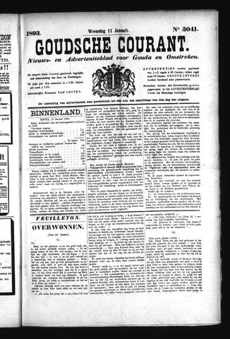 Goudsche Courant 1893-01-11