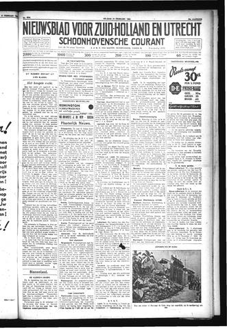 Schoonhovensche Courant 1932-02-19