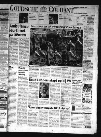 Goudsche Courant 2005-02-21
