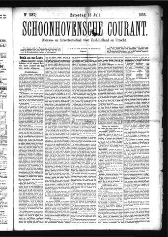 Schoonhovensche Courant 1893-07-15