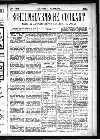 Schoonhovensche Courant 1911-09-02