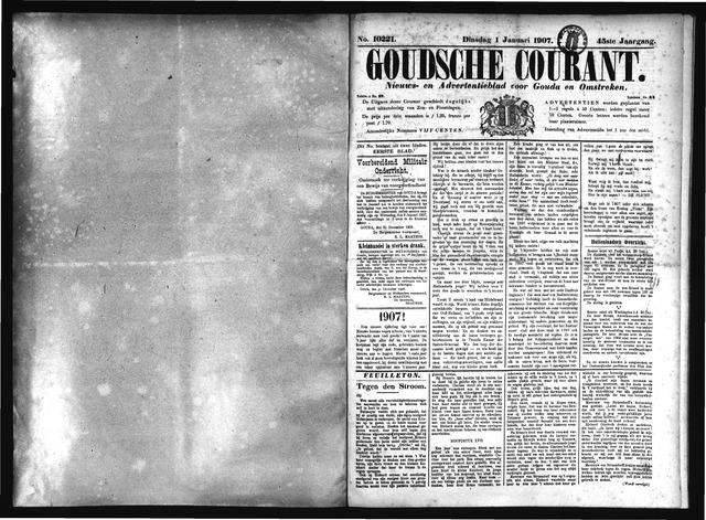 Goudsche Courant 1907