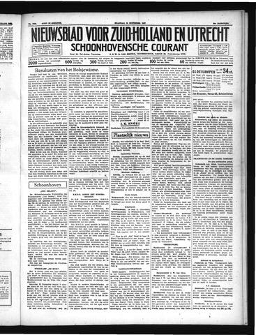 Schoonhovensche Courant 1937-11-15