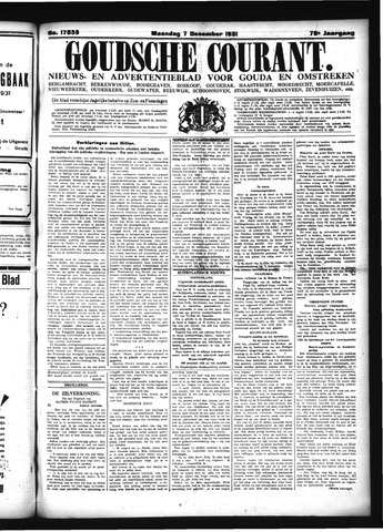 Goudsche Courant 1931-12-07