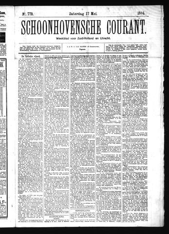 Schoonhovensche Courant 1884-05-17