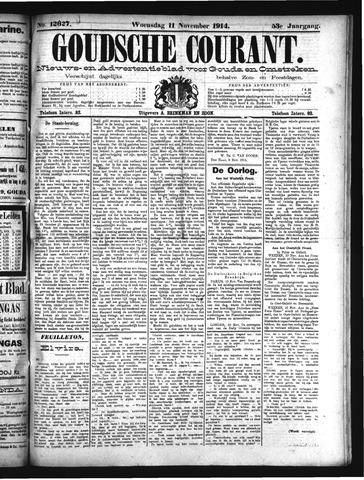 Goudsche Courant 1914-11-11