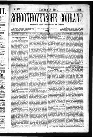 Schoonhovensche Courant 1878-05-19