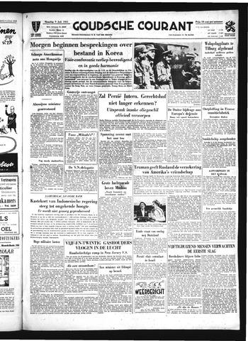 Goudsche Courant 1951-07-09