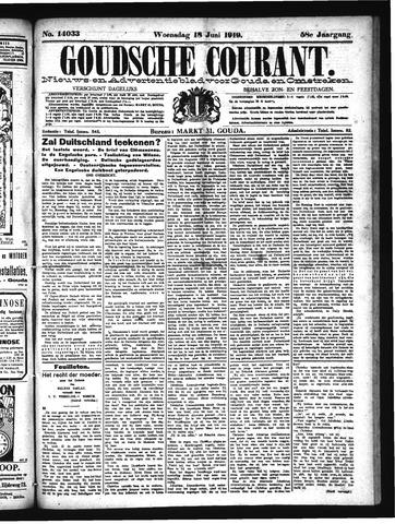 Goudsche Courant 1919-06-18