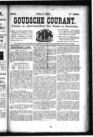 Goudsche Courant 1884-01-18
