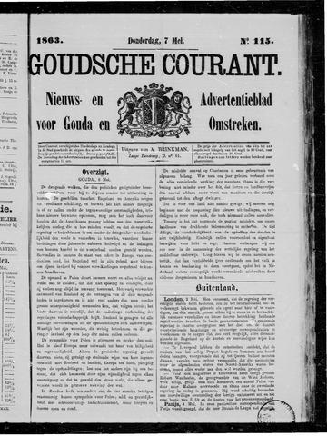 Goudsche Courant 1863-05-07