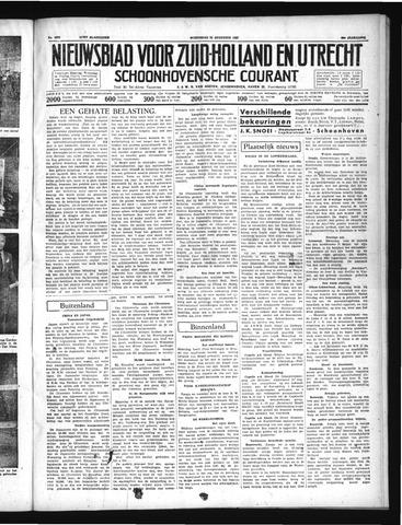 Schoonhovensche Courant 1937-08-25