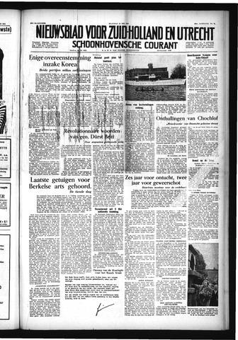 Schoonhovensche Courant 1954-05-24
