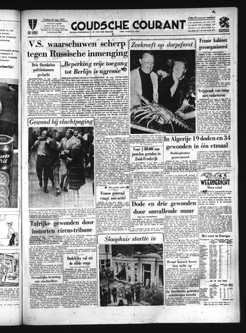 Goudsche Courant 1961-08-25
