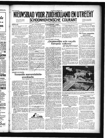 Schoonhovensche Courant 1949-02-28