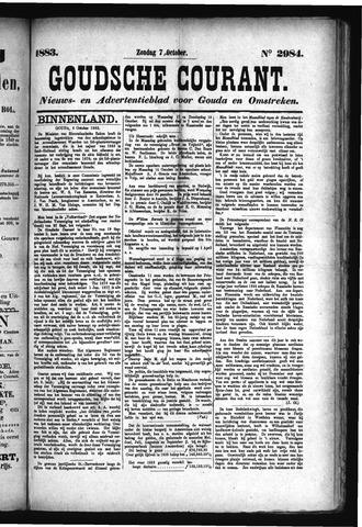 Goudsche Courant 1883-10-07