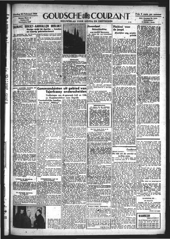 Goudsche Courant 1944-02-22