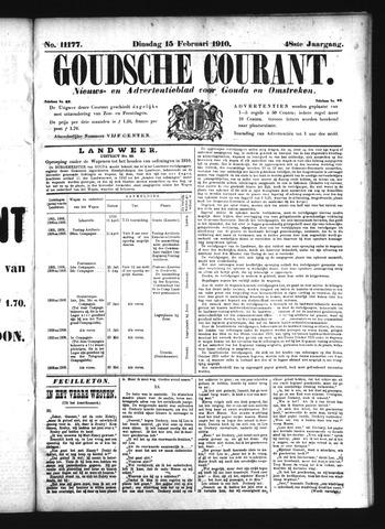 Goudsche Courant 1910-02-15
