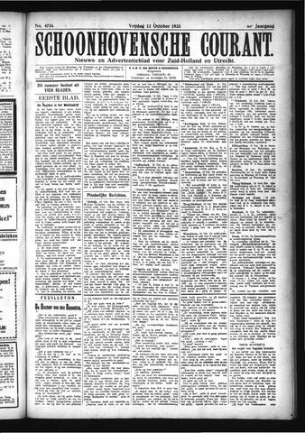 Schoonhovensche Courant 1923-10-12