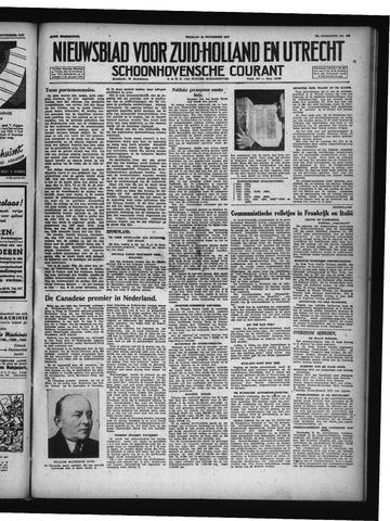 Schoonhovensche Courant 1947-11-14
