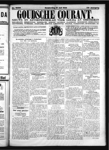 Goudsche Courant 1933-07-27