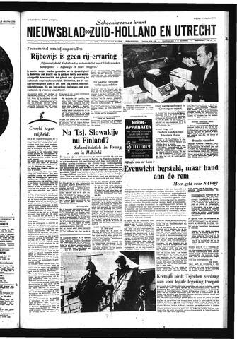 Schoonhovensche Courant 1968-10-11