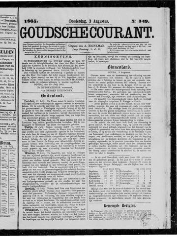 Goudsche Courant 1865-08-03