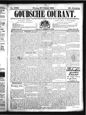 Goudsche Courant 1912-02-27