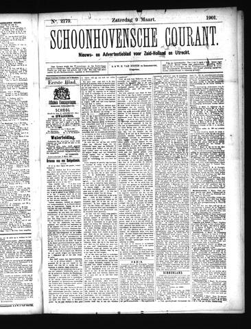 Schoonhovensche Courant 1901-03-09