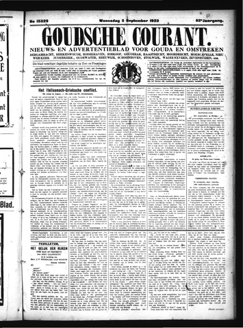 Goudsche Courant 1923-09-05