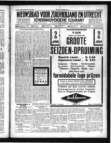 Schoonhovensche Courant 1938-12-30