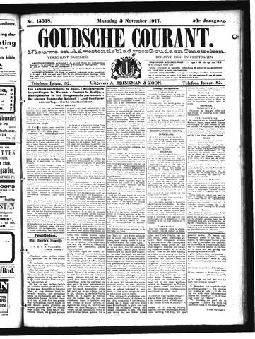 Goudsche Courant 1917-11-05