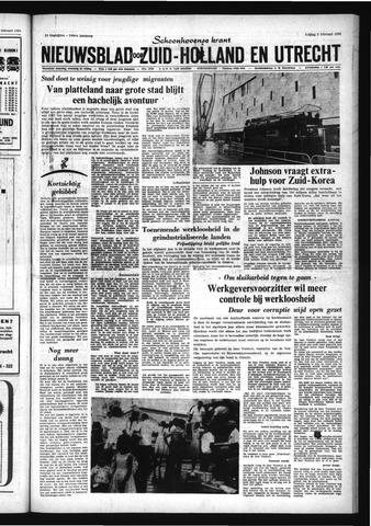 Schoonhovensche Courant 1968-02-09