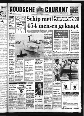 Goudsche Courant 1985-10-08