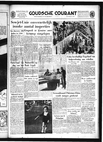 Goudsche Courant 1963-02-23