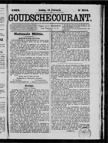 Goudsche Courant 1868-02-16