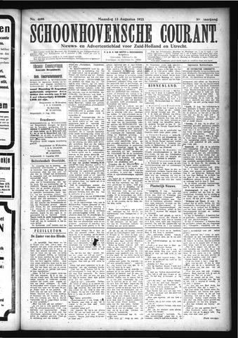 Schoonhovensche Courant 1923-08-13