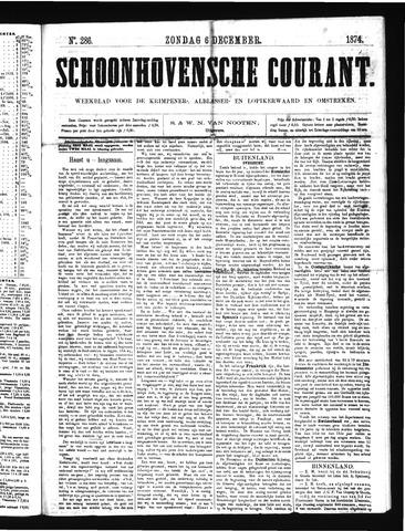 Schoonhovensche Courant 1874-12-06