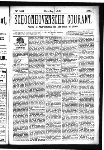 Schoonhovensche Courant 1899-07-01