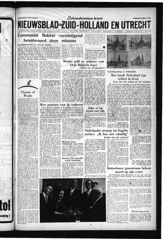 Schoonhovensche Courant 1961-10-25