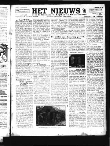 Schoonhovensche Courant 1945-11-09