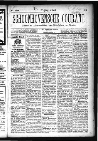 Schoonhovensche Courant 1915-07-02