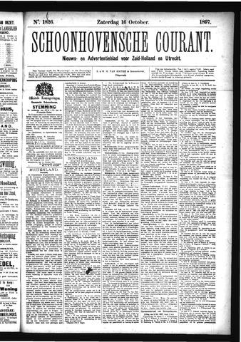 Schoonhovensche Courant 1897-10-16