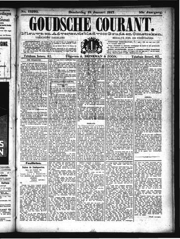 Goudsche Courant 1917-01-18