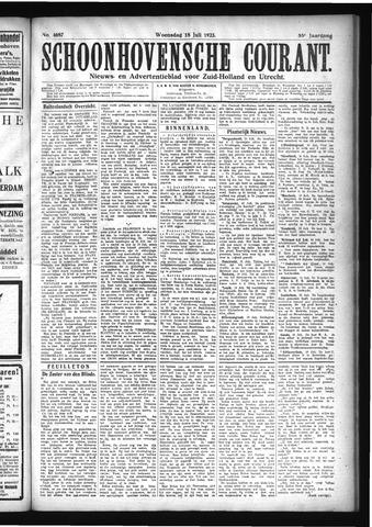 Schoonhovensche Courant 1923-07-18